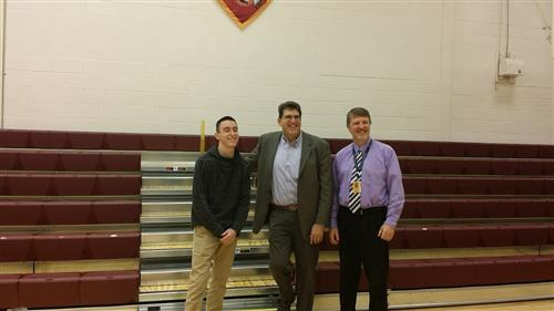 Senator DiSanto Visits Millersburg Area High School