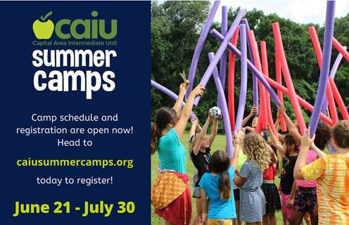 CAIU Summer Camp Schedule and Registration Now Open!