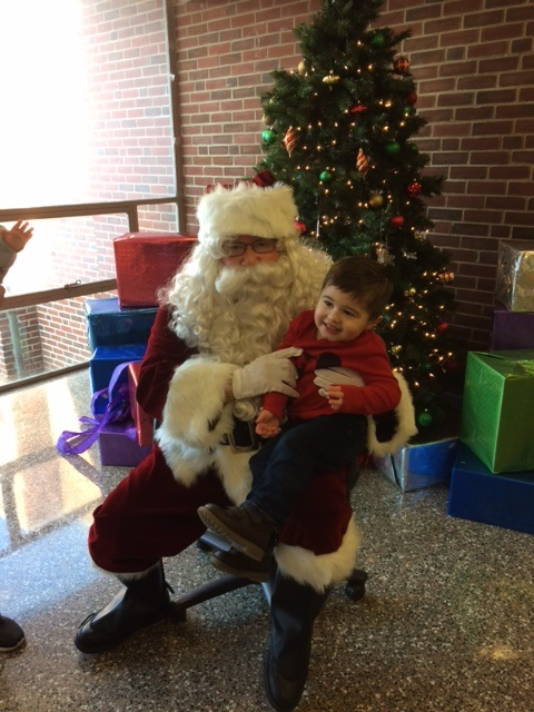 Millersburg Middle School Student Council Holds Annual Breakfast With Santa Event