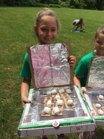 3rd Grade Conducts Awesome STEAM Lesson: Building Solar Ovens!