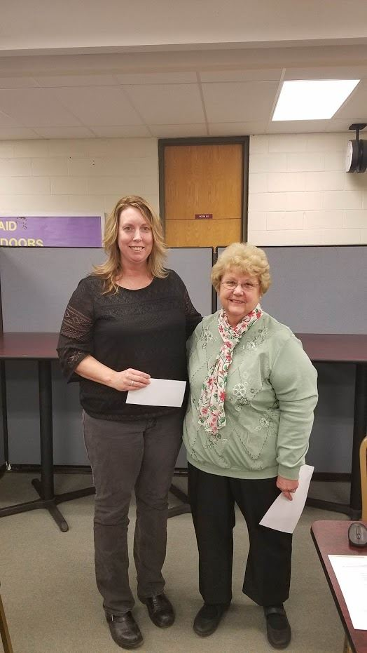 Congratulations To Lynn Mangle, Middle School Science Teacher, Recipient Of This Year's Grant From The Dauphin County Chapter Of PA Association Of School Retirees!