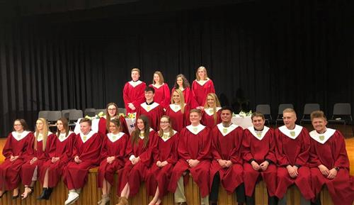 Millersburg Area High School Inducts New Members Into National Honor Society