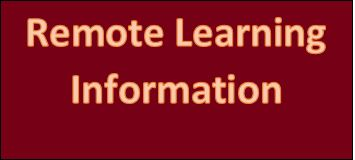 District Posts Remote Learning Information