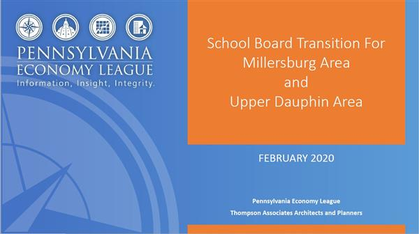 PA Economy League Shares Information Regarding Board Configuration Options For A Merged District