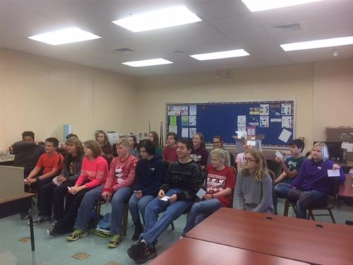 Millersburg Middle School Students Participate In Spelling Bee