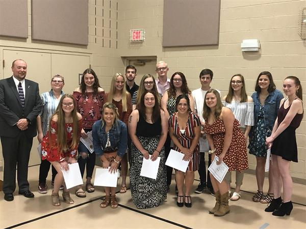 Millersburg Area High School Department Of Music Holds Annual Awards Banquet