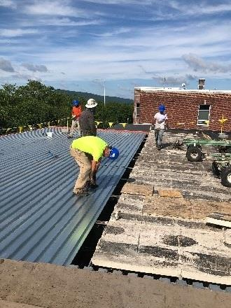 Roof Project Update