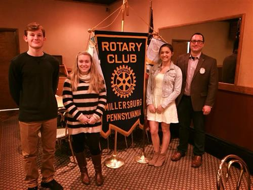 Millersburg Rotary Recognizes Students Of The Month