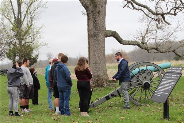AMERICAN HISTORY THROUGH FILM - AHF Students traveled to Gettysburg on 4/18/19