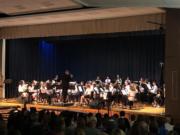 SPRING CONCERT: The High School Band, Choir, & Jazz Band performed beautifully on this year's Spring Concert - Sunday, April 28