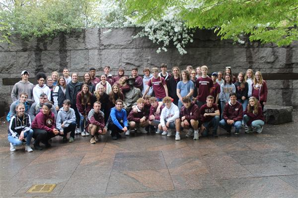 20th C / English 10 - Students in 20th C American History and English 10 traveled to Washington, D.C. on 4/12/19