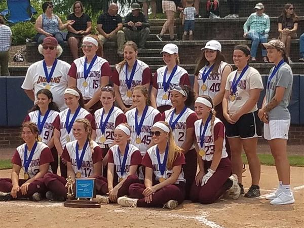 GIRLS SOFTBALL: Congratulations to our Girl's Softball Team! 2019 PIAA District 3-A Champs!!