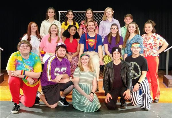 "CONGRATULATIONS - To the cast, crew, directors, and band of ""Godspell"" for three wonderful performances on March 5-7, 2020!"