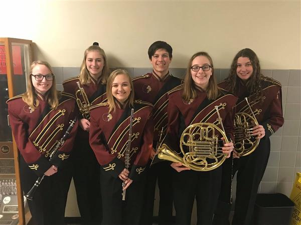 COUNTY BAND: Congratulations to our high school students who participated in the Dauphin County Band Festival on 2/16/19!