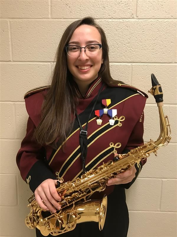CONGRATULATIONS TO CASSIDY P!  Cassidy has been selected to the PMEA All-State Wind Ensemble!  We are so proud!