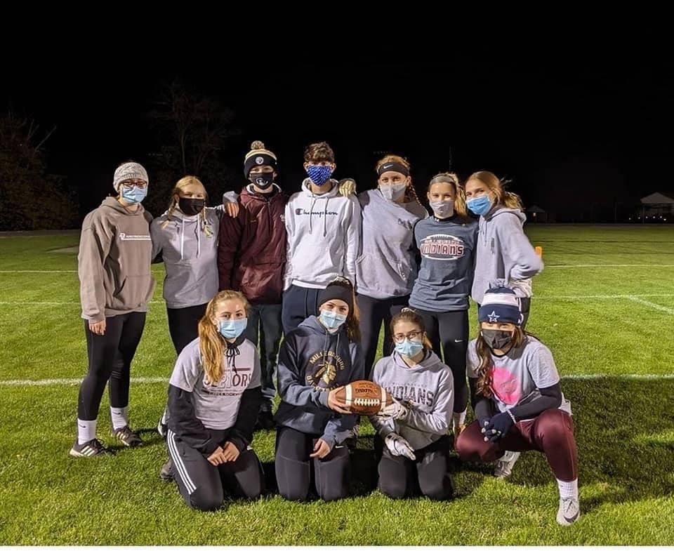 POWDER PUFF: The annual Power Puff Football Game was held on Tuesday, November 3.