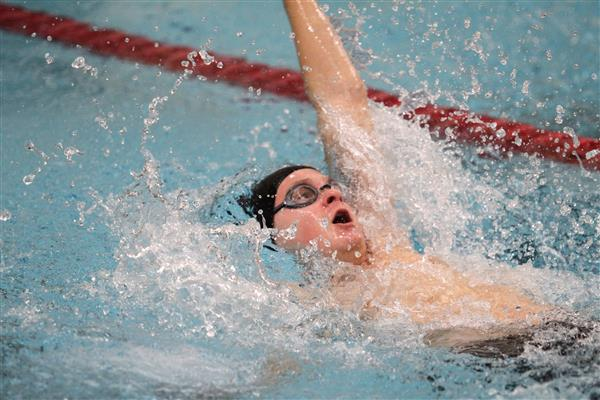 """Congratulations to Logan R. who qualified for the PIAA District 3AA Swimming Championships in the men's 100 yard backstroke event to be held at Cumberland Valley High School March 3 & 4, 2017.  Go for the Gold, Logan!"""
