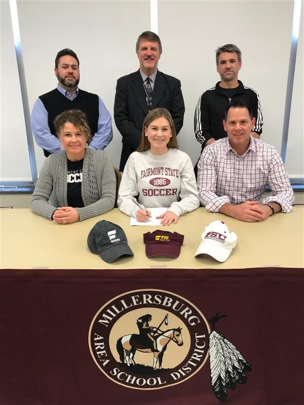 CONGRATULATIONS TO KYLEE A!! Kylee will be attending school and playing soccer at Fairmont State University in West Virginia this fall!