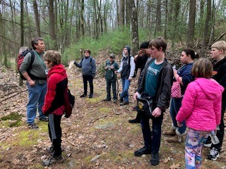 MS/HS LIFE SKILLS - Students in Life Skills Class hiked over 6 miles of the Appalachian Trail on 4/17/19