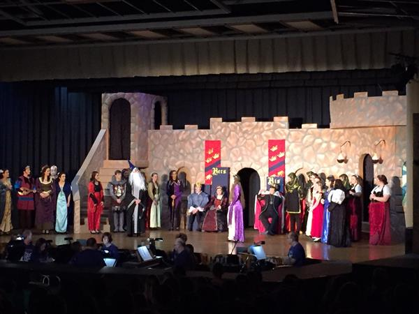 "THE MUSIC DEPARTMENT PRESENTS ""ONCE UPON A MATTRESS"""