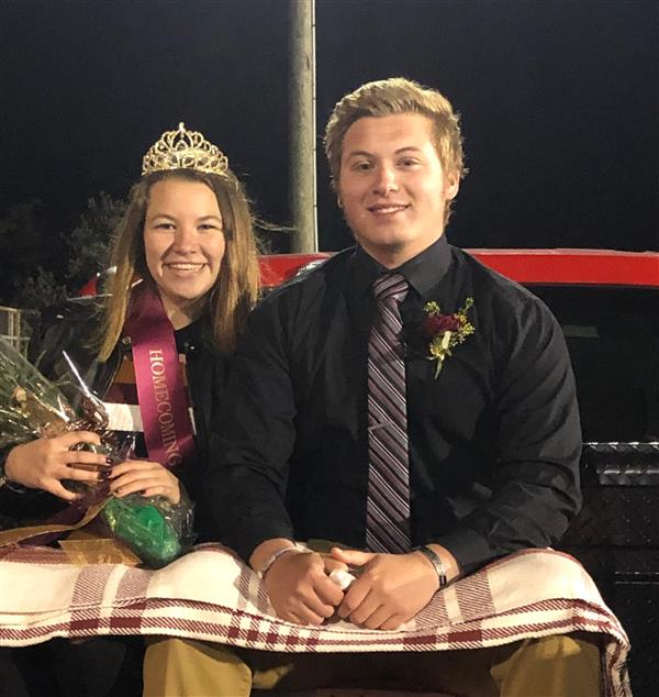 HOMECOMING - Congratulations to Layla E. for being selected as this year's 2019 Homecoming Queen on 10/4/19!