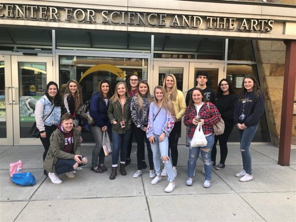 SURGERY LIVE: Our Anatomy students traveled to Whitaker Center on 4-4-19 to observe a Cholecystectomy procedure (gallbladder removal).