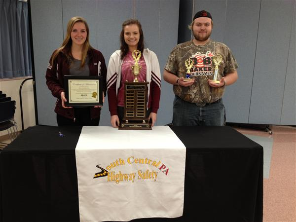 SAFE DRIVING COMPETITION - April 6, 2016 - Congratulations to Rusty K., Tatum L., and Catherine R. for bringing home the overall FIRST PLACE trophy!  Special congratulations to Rusty for winning FIRST PLACE overall and winning $300.00!