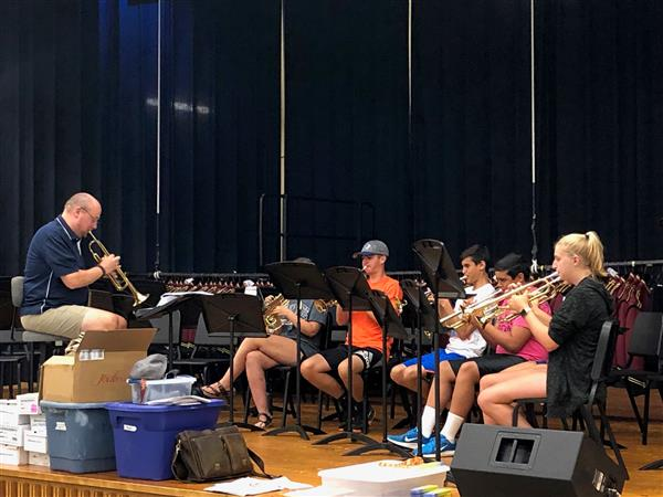 AUGUST IS HERE! - Band Camp Sectionals have begun.  That can only mean one thing...school will be starting soon.  First student day is Monday, August 19.