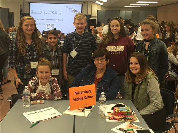 EXCELLENCE IN EQUITY - Middle School students attend the Excellence in Equity Conference at the CAIU on 10/31/17