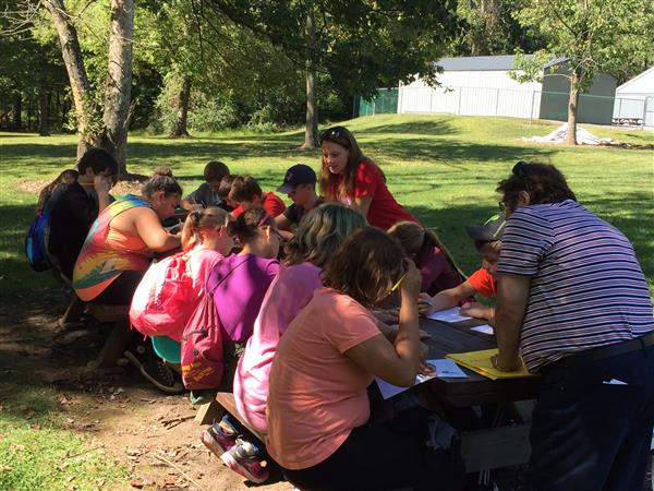 7th Grade students took a field trip to Wiconisco Park on  Sept. 22.