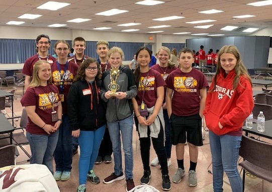 MATH 24: We are so very proud of our Math 24 Team for placing 3rd in the CAIU on Tuesday, May 14!