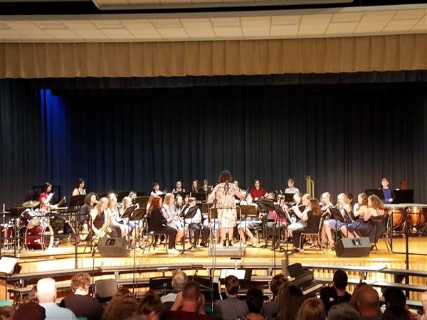 SPRING CONCERT: The MS Band and Choir did a spectacular job in this year's Concert on 4/30/19