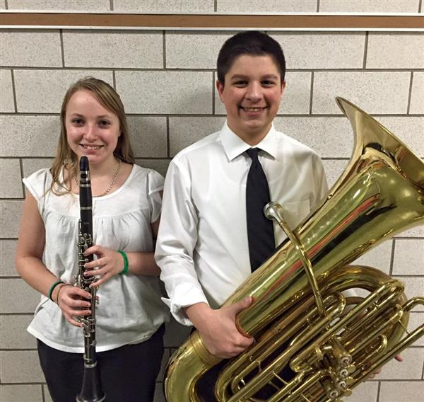 Millersburg Middle School Students Participate in Dauphin County Band Festival