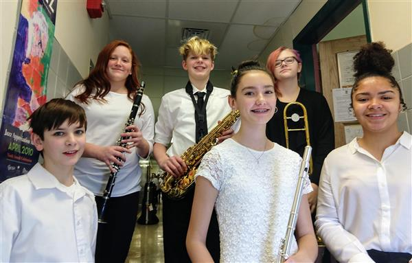 COUNTY BAND: Congratulations to our middle school students who participated in the Dauphin County Band Festival on 2/16/19!