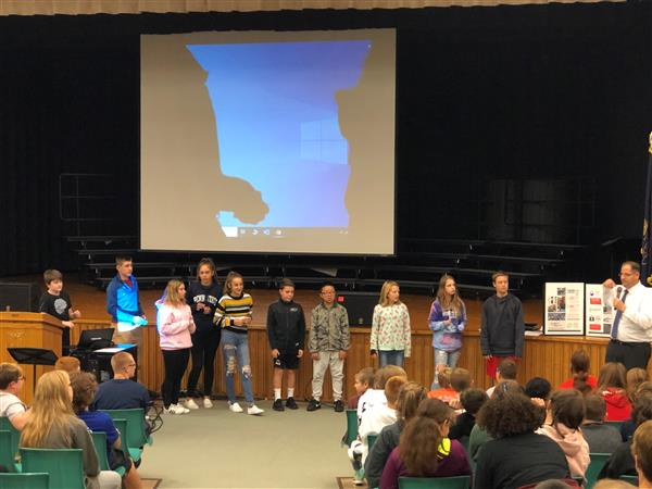 ASSEMBLY - On 10/24/19, students attended an assembly which described the dangers of using e-cigarettes and vaping