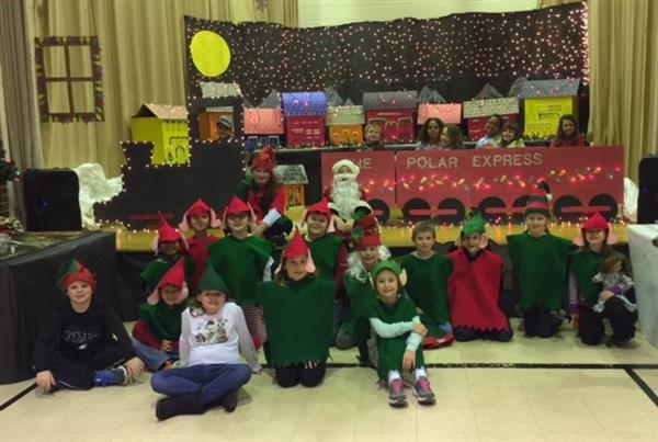 "Mrs. Doyle's And Mrs. Dyba's Present ""The Polar Express"""