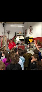 Second Grade Visits the Firehouse
