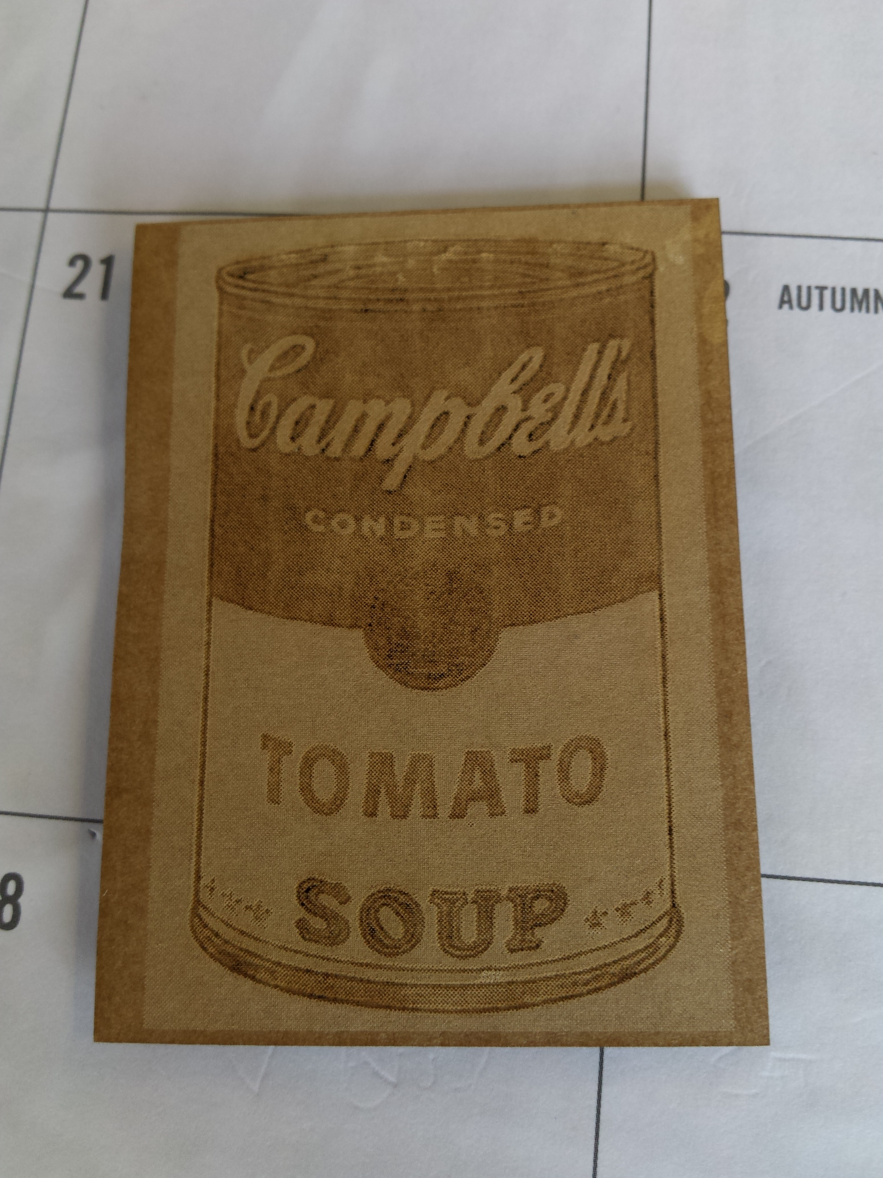 Campbell's by Warhol