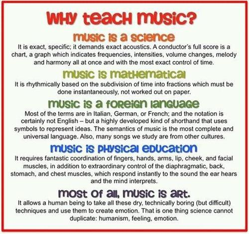 Why Teach Music?